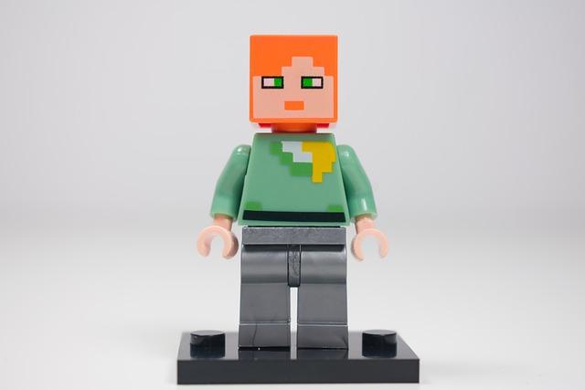 figurka minecraft